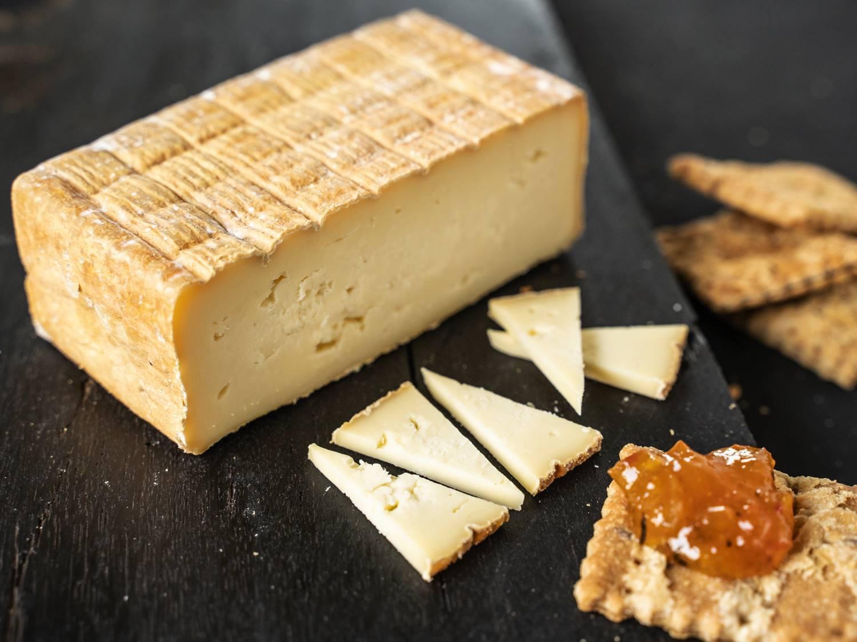 Maroilles Käse Frankreich Rohmilchkäse Bauernherstellung (Fermier)