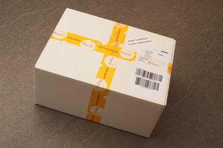 Kühlverpackung für Versand von Käse - Schritt 9